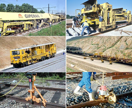 Equipment for railway works - planete-tp : All about public