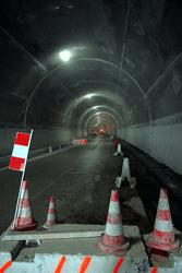 Tunnel des Grands Goulets, fin de chantier