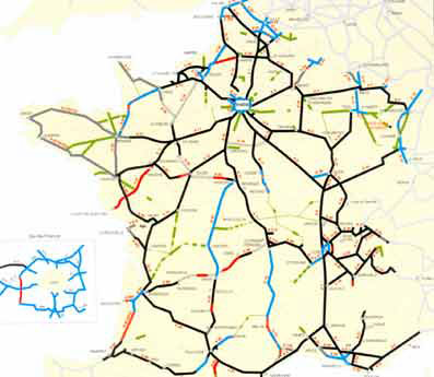 reseau routier de france - Photo
